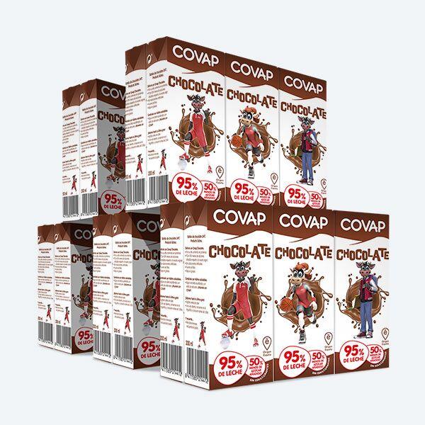 Batido de chocolate COVAP | Lácteos COVAP