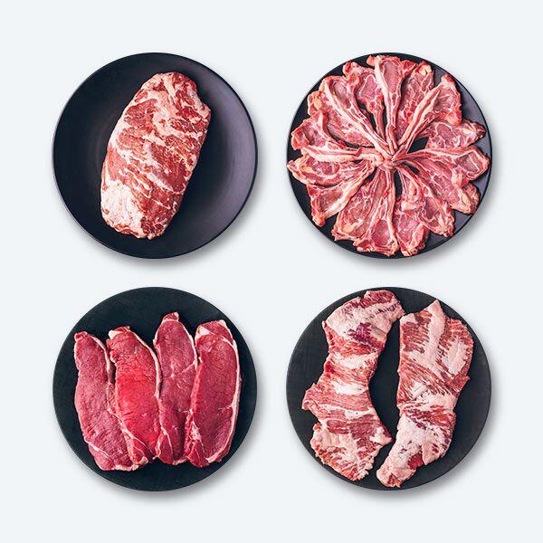 Pack Barbacoa Carnes de la dehesa   COVAP